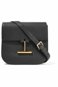 TOM FORD - Tara Mini Textured-leather Shoulder Bag - Black