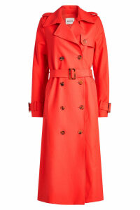 Khaite Cornelia Cotton Trench Coat