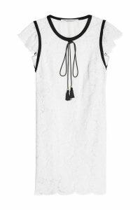 Philosophy di Lorenzo Serafini Lace Dress with Tassels