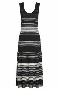 Proenza Schouler Striped Dress with Cotton