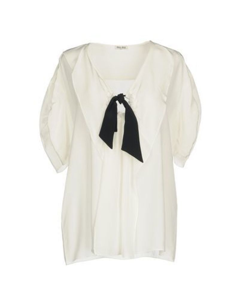 MIU MIU SHIRTS Blouses Women on YOOX.COM