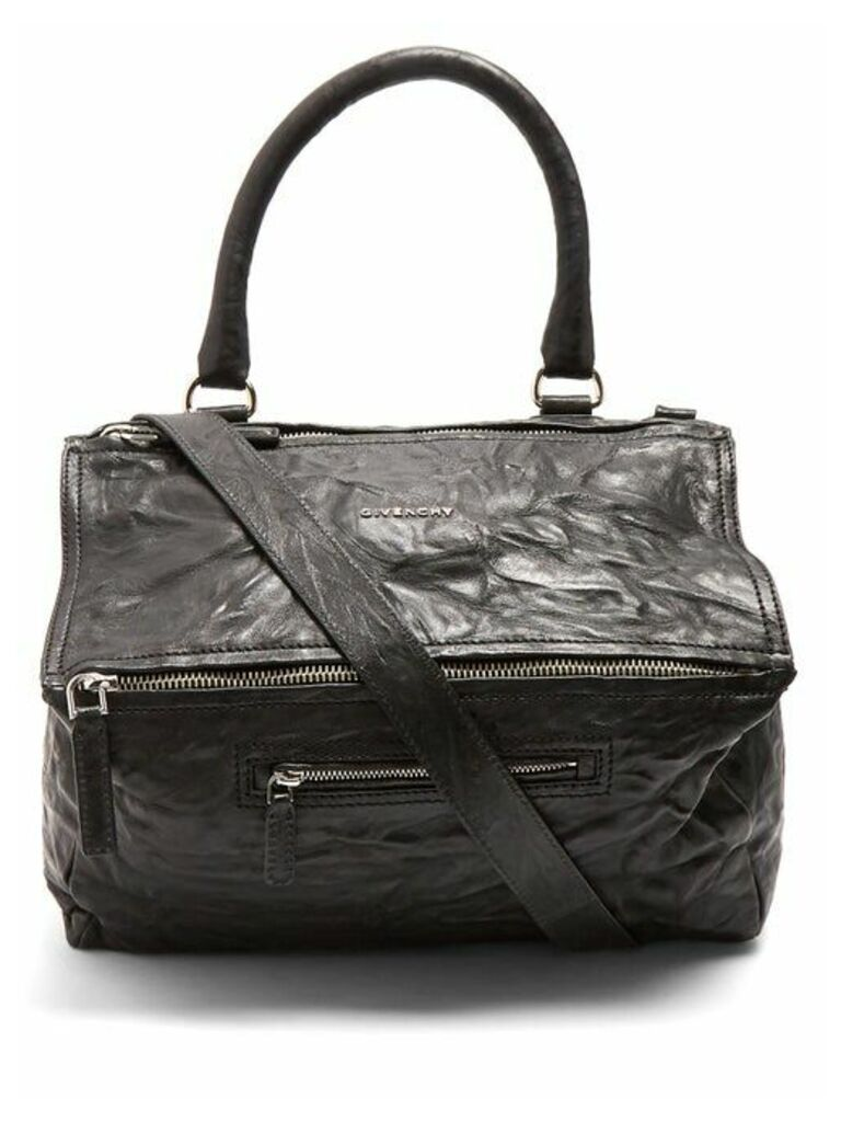 Givenchy - Pandora Medium Creased Leather Bag - Womens - Black