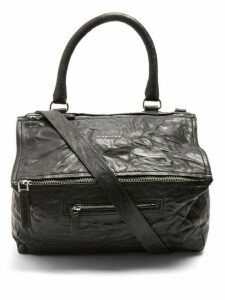 Givenchy - Pandora Medium Creased Leather Bag - Womens - Black