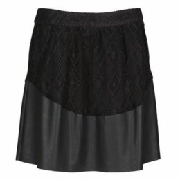 Vila  CELESTINA  women's Skirt in Black