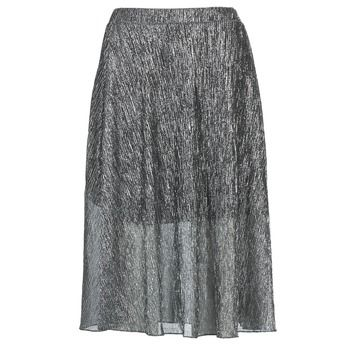 Betty London  FOYEUSE  women's Skirt in Silver