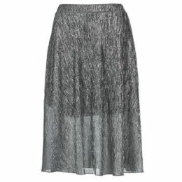 Betty London  FOYEUSE  women's Skirt in Silver