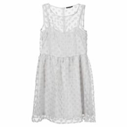 Sisley  4N8JLV517  women's Dress in White