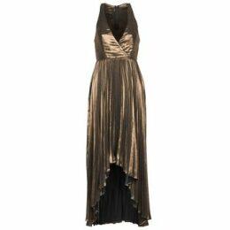 Manoukian  612556  women's Long Dress in Gold