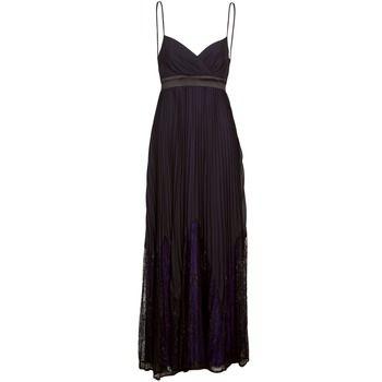 Manoukian  612933  women's Long Dress in Black