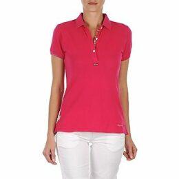 Napapijri  ELINDA  women's Polo shirt in Pink