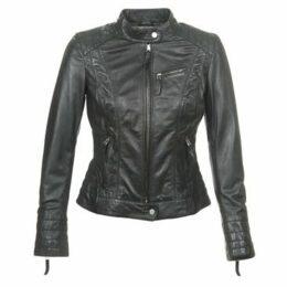 Oakwood  STORY NEW  women's Leather jacket in Black
