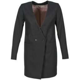 Freeman T.Porter  MOLLIE POLY/VIS BLACK  women's Coat in Black