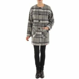 Esprit  CHECK O SHAPE  women's Coat in Grey