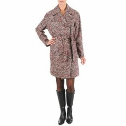 Lola  MORANDI IPERYON  women's Coat in Red
