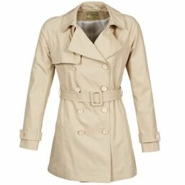 Lola  MARDI  women's Trench Coat in Beige