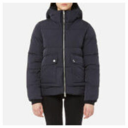 Superdry Women's Superluxe Duvet Coat - Navy