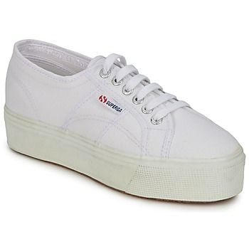 Superga  2790 LINEA UP AND  women's Shoes (Trainers) in White
