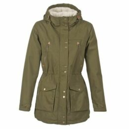 Volcom  WALK ON BY  women's Parka in Green