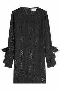 Victoria Victoria Beckham Embellished Twist Sleeve Dress