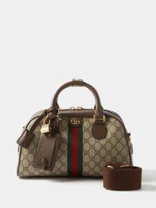 Jw Anderson - Oversized High Neck Tie Waist Cotton Trench Coat - Womens - Cream