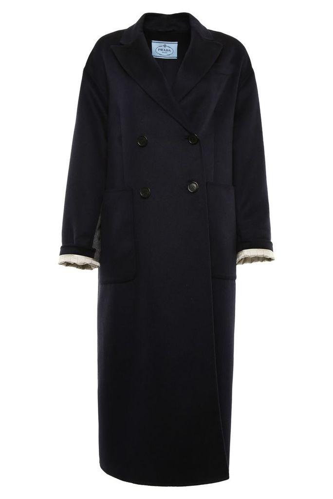 Prada Lightweight Cashgora Coat