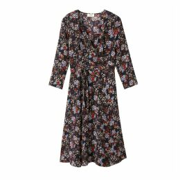 Tanguy Floral Print Wrap Dress