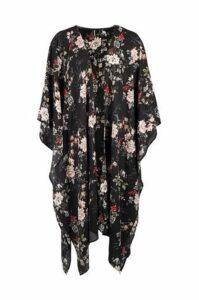 Oriental Floral Kimono