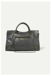 Balenciaga - Classic City Textured-leather Tote - Gray