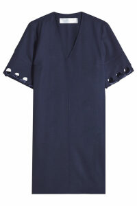 Victoria Victoria Beckham Laced Sleeve Wool Dress