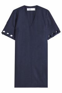 Victoria Victoria Beckham Laced Sleeve Wool Dress