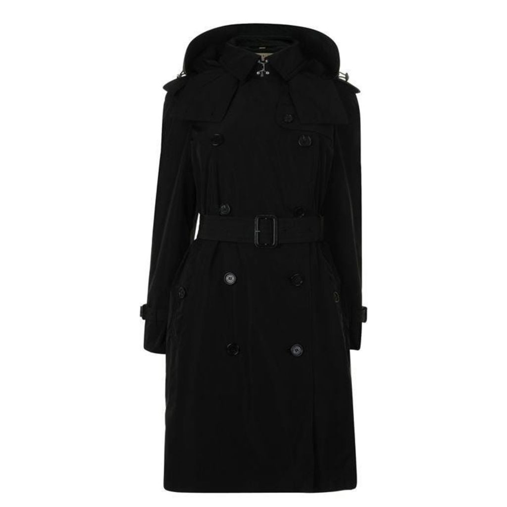 BURBERRY Amberford Hooded Trench Coat