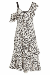 Proenza Schouler Ruffled Cocktail Dress
