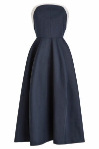 Delpozo STYLEBOP.com Exclusive Strapless Dress in Cotton
