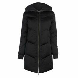 Firetrap Longline Puffer Jacket - Black