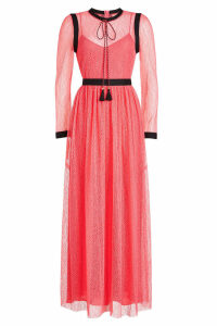 Philosophy di Lorenzo Serafini Lace Maxi Dress with Tassels