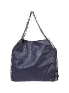 Stella McCartney Blue Falabella Double Chain Bag