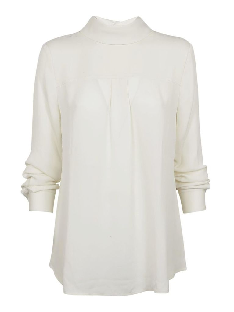 Theory Reverse Shirt Blouse
