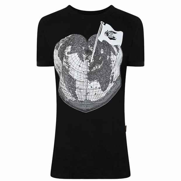 VIVIENNE WESTWOOD ANGLOMANIA Heart World T Shirt