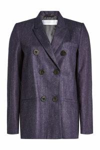 Victoria Victoria Beckham Cotton Blazer with Linen