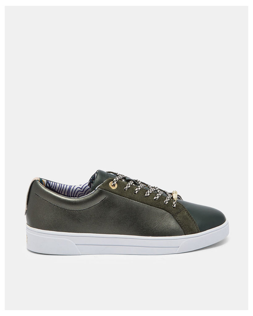 Ted Baker Lace-up trainers Khaki