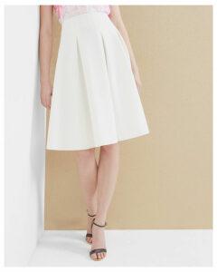 Ted Baker Pleated skirt Ecru