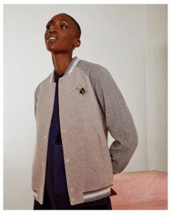 Ted Baker Wool bomber jacket Dusky Pink