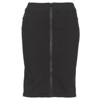G-Star Raw  LYNN LUNAR HIGH SLIM SKIRT  women's Skirt in Black