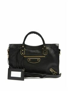 Balenciaga - Classic City Leather Shoulder Bag - Womens - Black