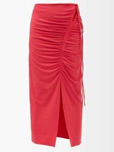 The Row - Dundi Long Padded Coat - Womens - Navy