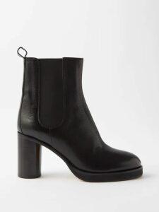 Daft - Pantelleria Embroidered Linen Kaftan Dress - Womens - Red Multi