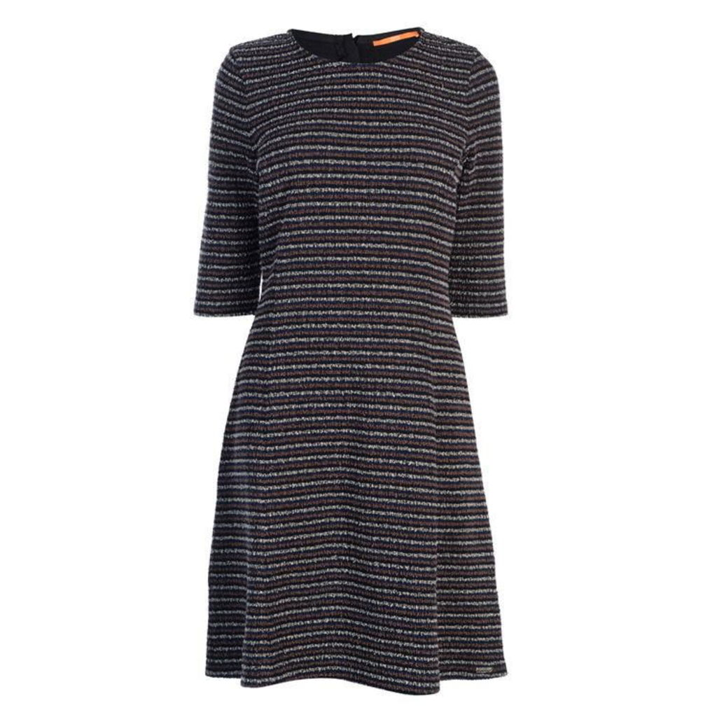 BOSS CASUAL Boss Dacoca Stripe Dress