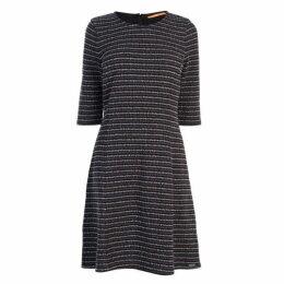 BOSS CASUAL Boss Dacoca Stripe Dress