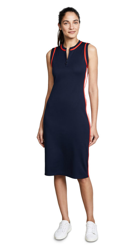 Tory Sport Sleeveless Track Dress