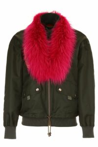 Mr & Mrs Italy Bomber Jacket With Embroidery